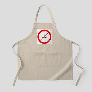 H5N1 No Asian Bitties BBQ Apron