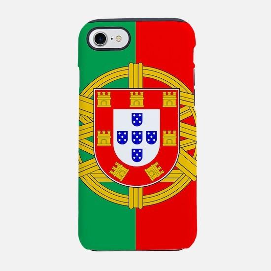 portugal-flag_sb.png iPhone 7 Tough Case