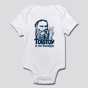 Tolstoy is My Homeboy Infant Bodysuit