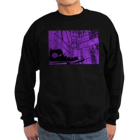 Canvas Sneaker Sweatshirt (dark)