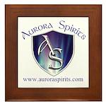 Aurora Spirits Framed Tile