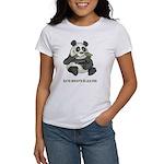 Panda Eats Shoots & Leaves Women's T-Shirt