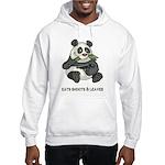 Panda Eats Shoots & Leaves Hooded Sweatshirt