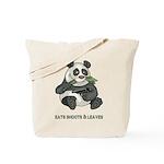 Panda Eats Shoots & Leaves Tote Bag
