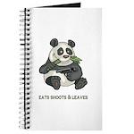 Panda Eats Shoots & Leaves Journal