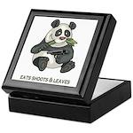 Panda Eats Shoots & Leaves Keepsake Box