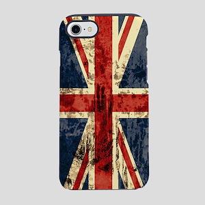 union-jack-vintage_ff iPhone 7 Tough Case