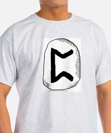 Viking Rune Perth Ash Grey T-Shirt