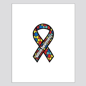 Autism Ribbon Small Poster