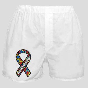Autism Ribbon Boxer Shorts