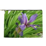 Iris Flower Makeup Bag