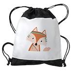 Felix Fox Drawstring Bag