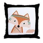 Felix Fox Throw Pillow