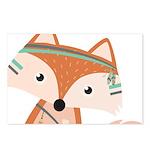 Felix Fox Postcards (Package of 8)