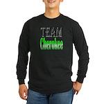 Team Cherokee Long Sleeve Dark T-Shirt