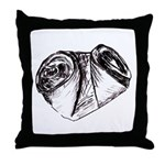 Crushed Can (Recycle!) Throw Pillow