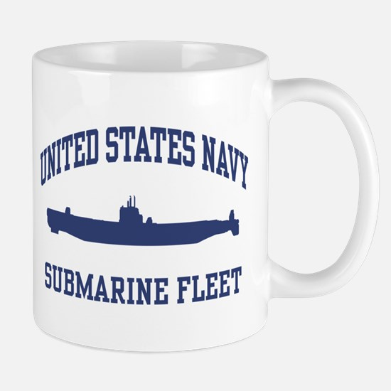Navy Submarine Mug