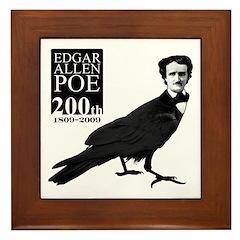 Edgar Allen Poe 200th Framed Tile