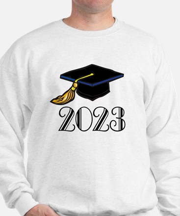 2023 Grad Hat Sweatshirt