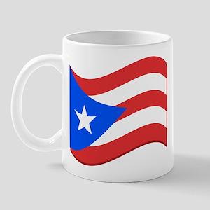 Puerto Rico Flag Mug