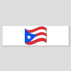 Puerto Rico Flag Bumper Sticker