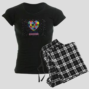 pink autism awareness Pajamas