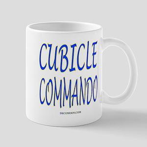 Cubicle Commando (Ambidextrous) Mug