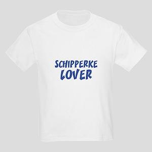 SCHIPPERKE LOVER Kids T-Shirt