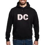 DC Flag Mini Print Hoodie (dark)