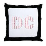 DC Flag Mini Print Throw Pillow