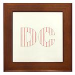 DC Flag Mini Print Framed Tile