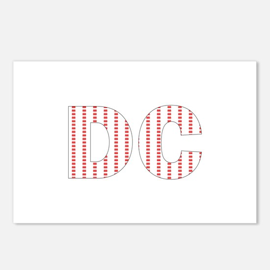DC Flag Mini Print Postcards (Package of 8)
