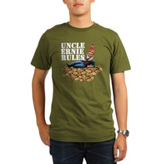 Gnomes and Cookies Organic Men's T-Shirt (dark)