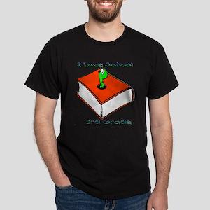 Bookworm 3rd Grade Dark T-Shirt