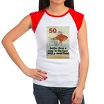 50th Women's Cap Sleeve T-Shirt