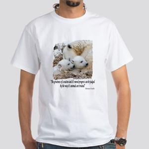 Polar Bear Ts White T-Shirt