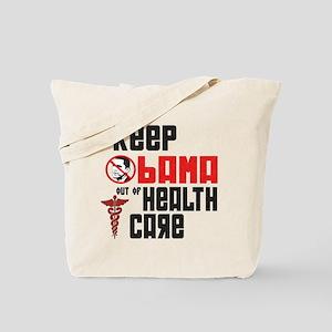 Anti Obama Health Care Tote Bag