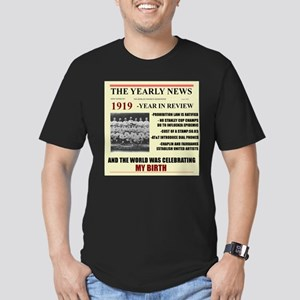born in 1919 birthday gift Men's Fitted T-Shirt (d
