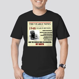 born in 1948 birthday gift Men's Fitted T-Shirt (d
