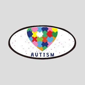 pink autism awareness Patch