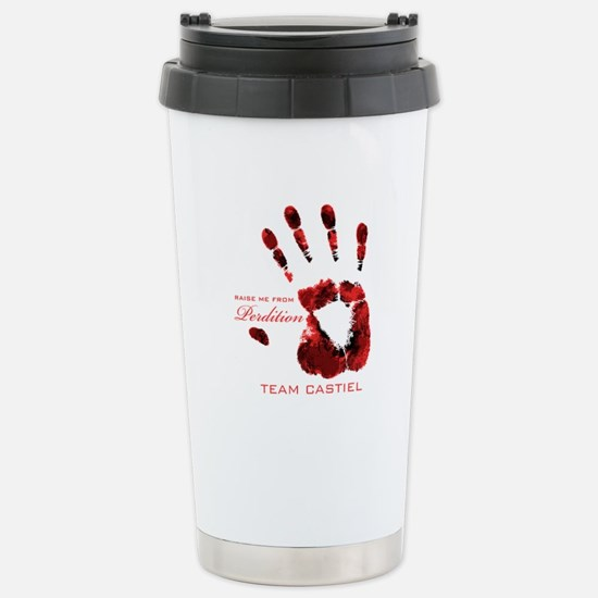 Team Castiel - Stainless Steel Travel Mug