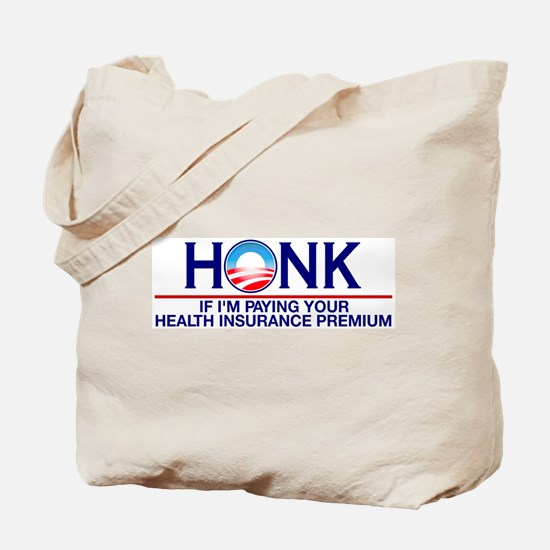 Honk Health Insurance Tote Bag