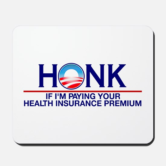 Honk Health Insurance Mousepad