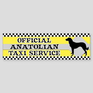 Official Anatolian Shepherd Taxi Bumper Sticker