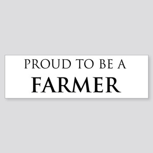 Proud Farmer Bumper Sticker