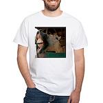 Humorous Equine White T-Shirt