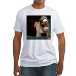Humorous Equine Fitted T-Shirt
