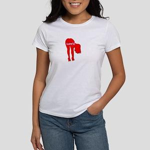 bend over 4 LOVE Women's T-Shirt
