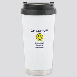 Cheer Up V2 Stainless Steel Travel Mug