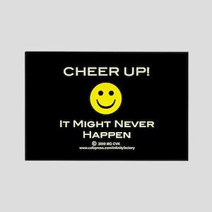 Cheer Up V2 Rectangle Magnet